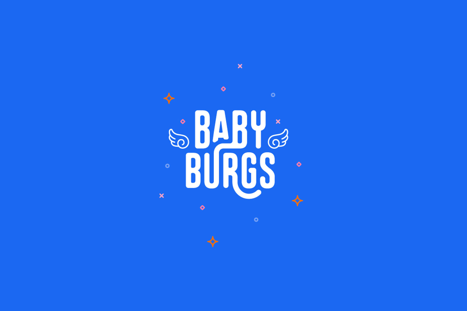 Babyburgs restaurant branding by Z Creative Studio Branding & Graphic Design Melbourne