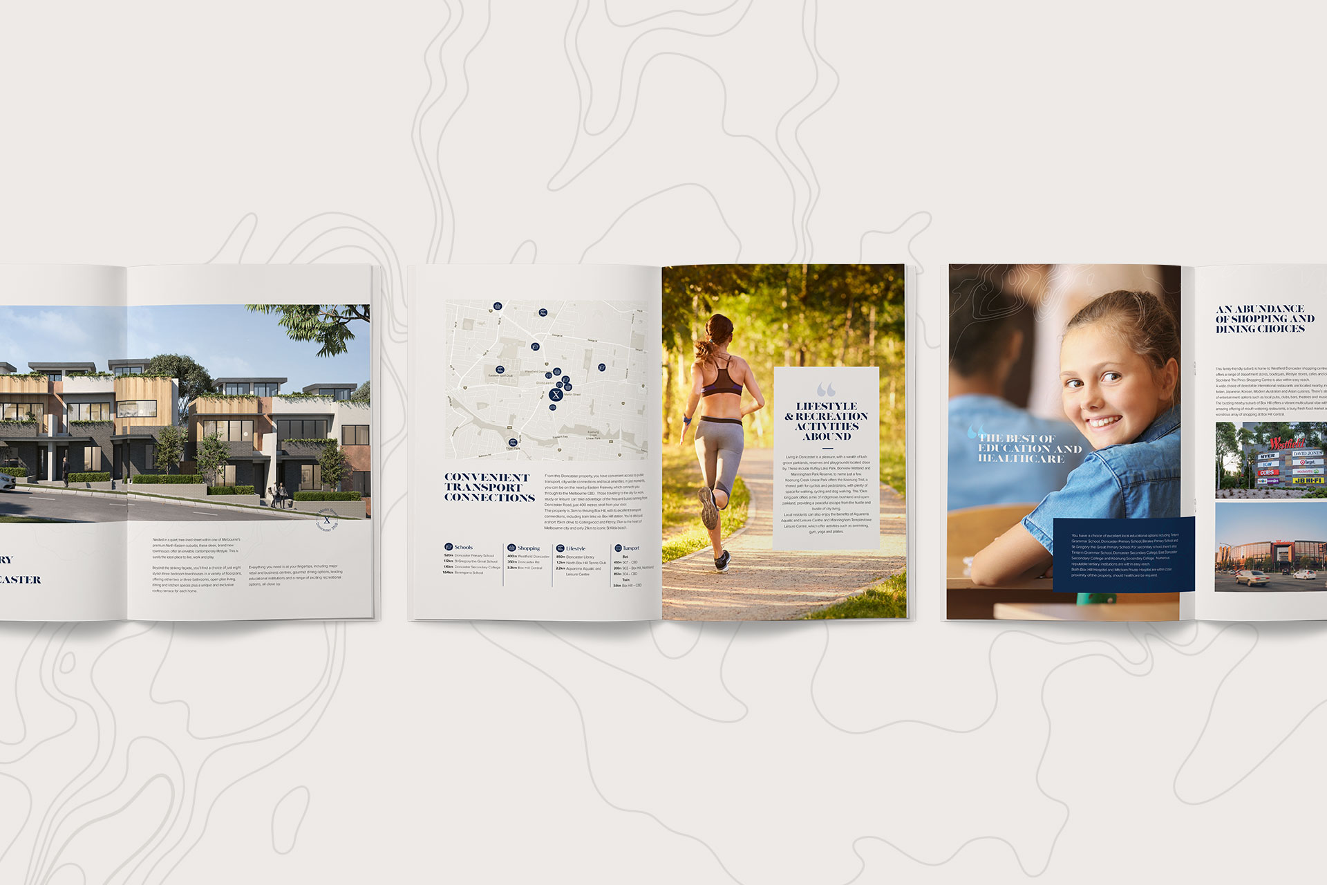 property branding by Z Creative Studio Branding & Graphic Design Melbourne