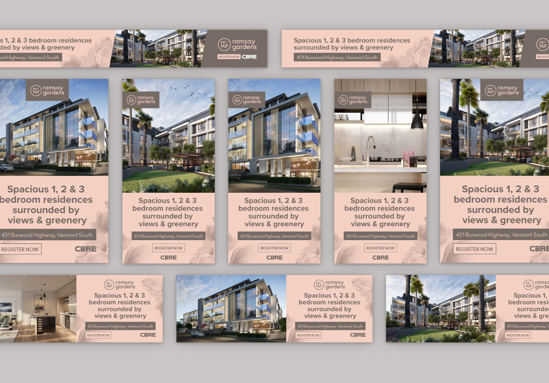 Property marketing by Z Creative Studio Branding & Graphic Design Melbourne