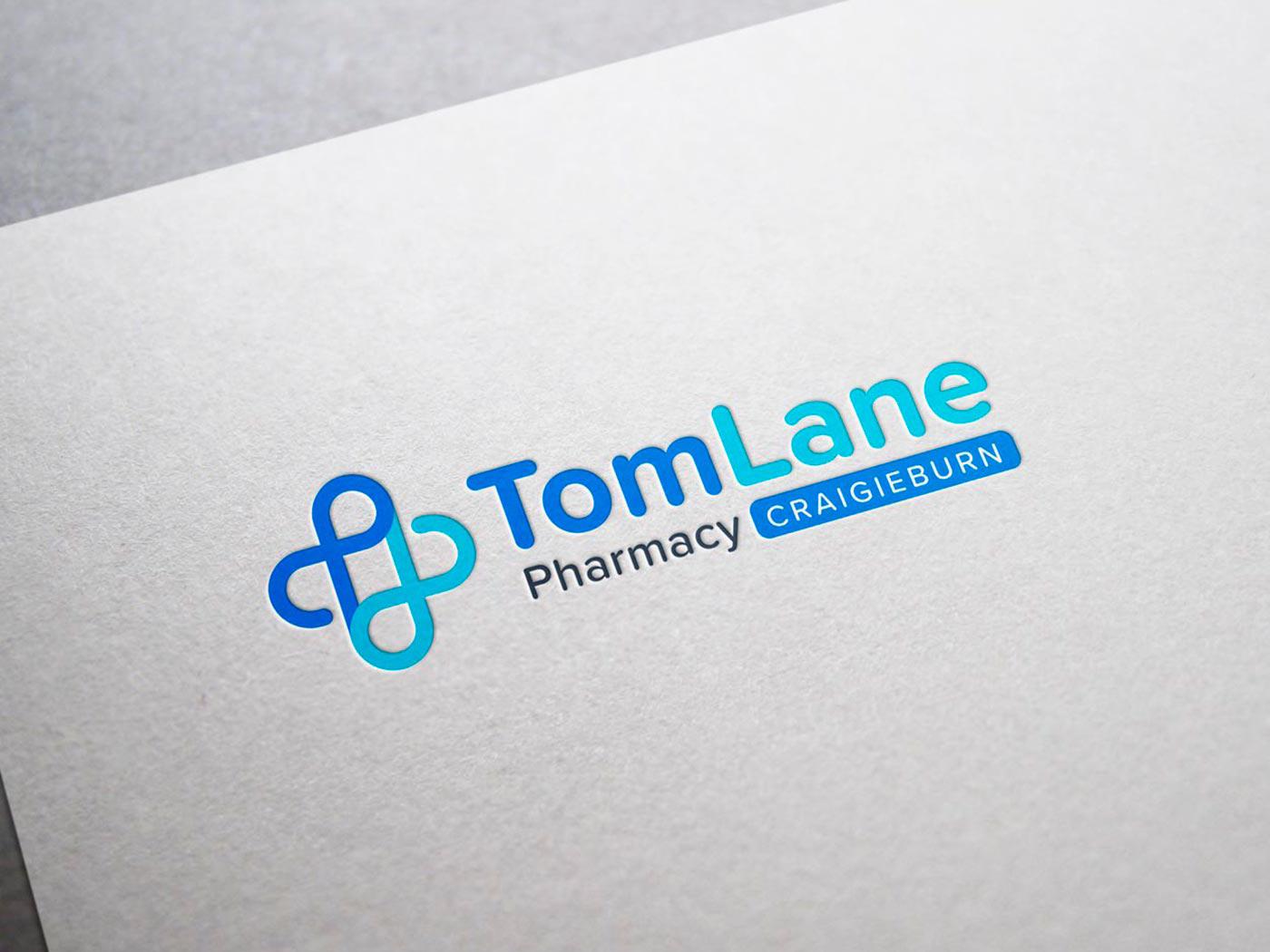 Pharmacy branding by Z Creative Studio Branding & Graphic Design Melbourne