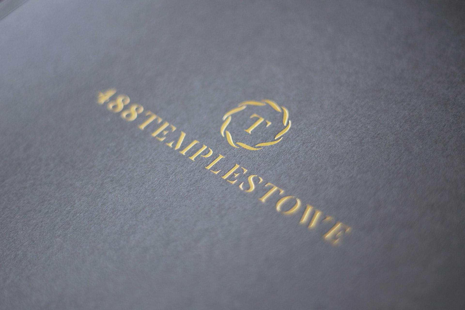 488 templestowe property branding by Z Creative Studio Branding & Graphic Design Melbourne