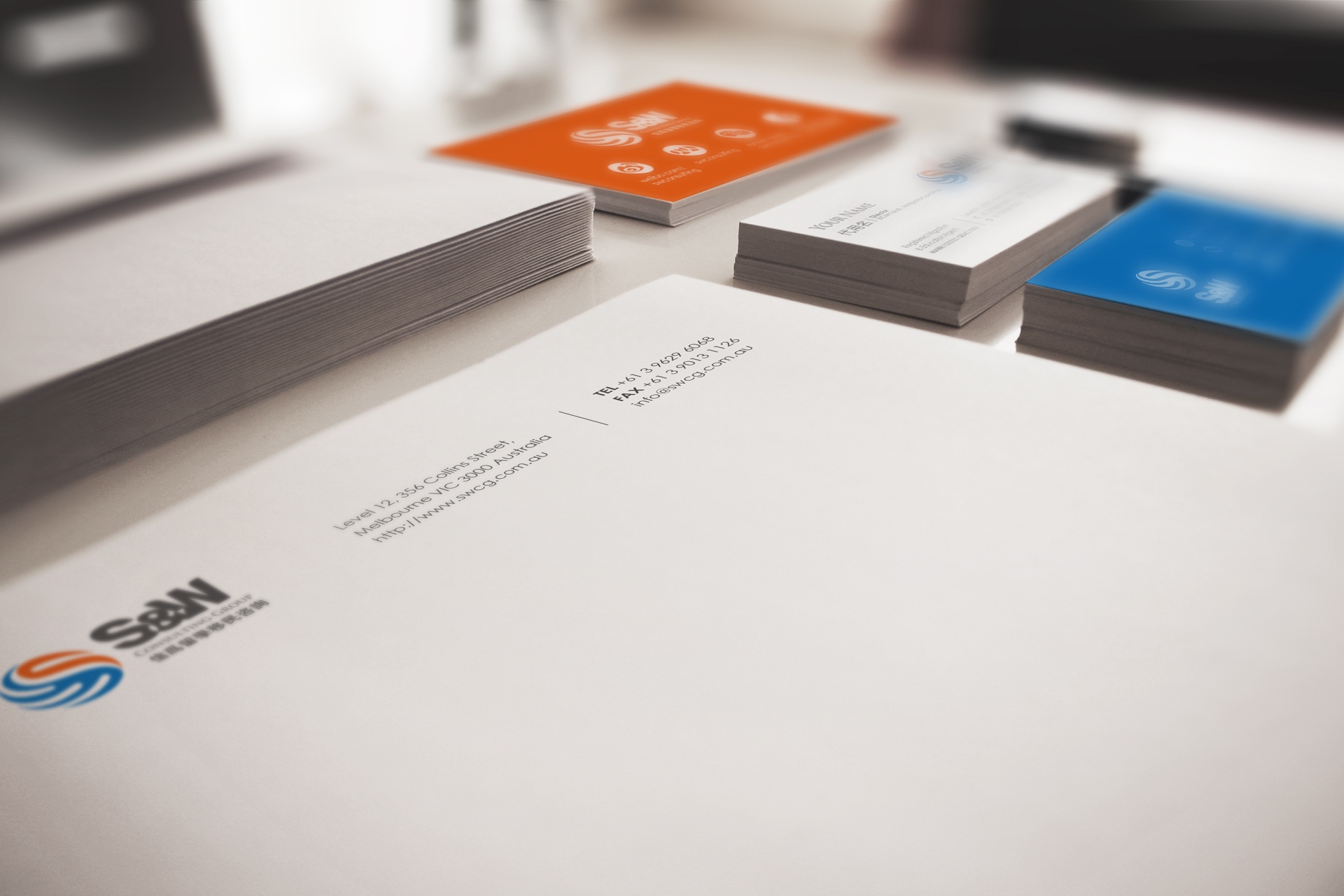 education migration consulting branding by Z Creative Studio Branding & Graphic Design Melbourne