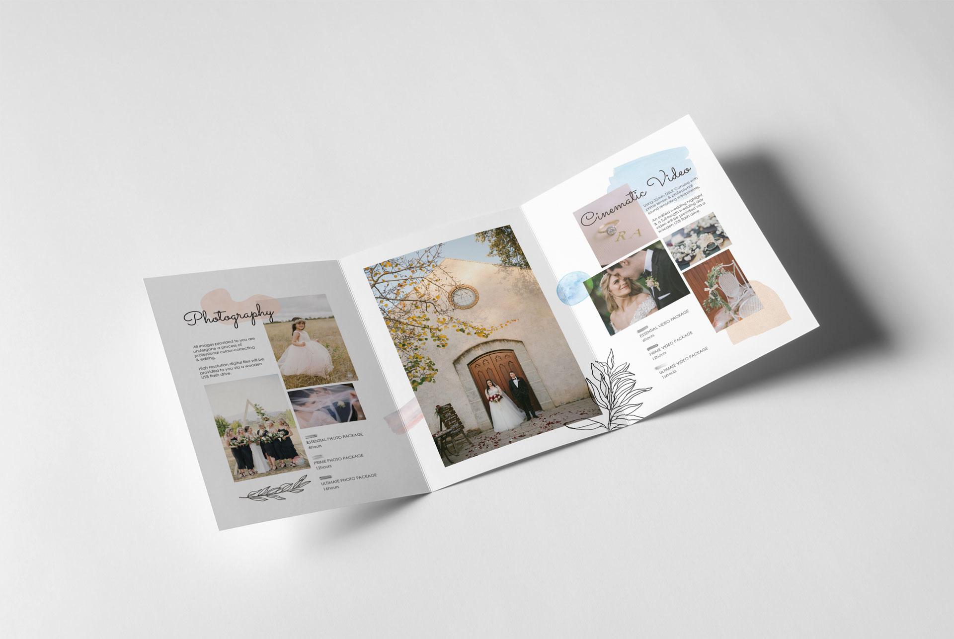 photography studio branding by Z Creative Studio Branding & Graphic Design Melbourne