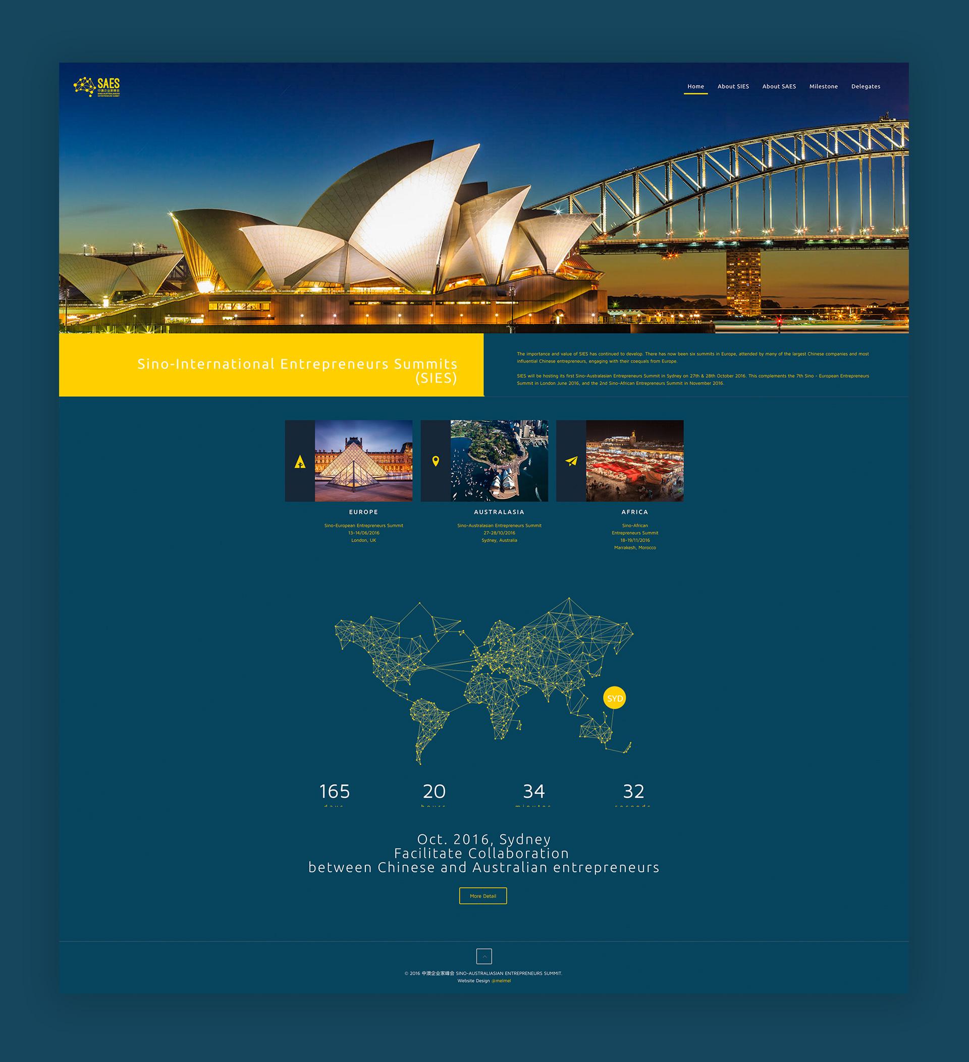 summit conference brand visual design by Z Creative Studio Branding & Graphic Design Melbourne