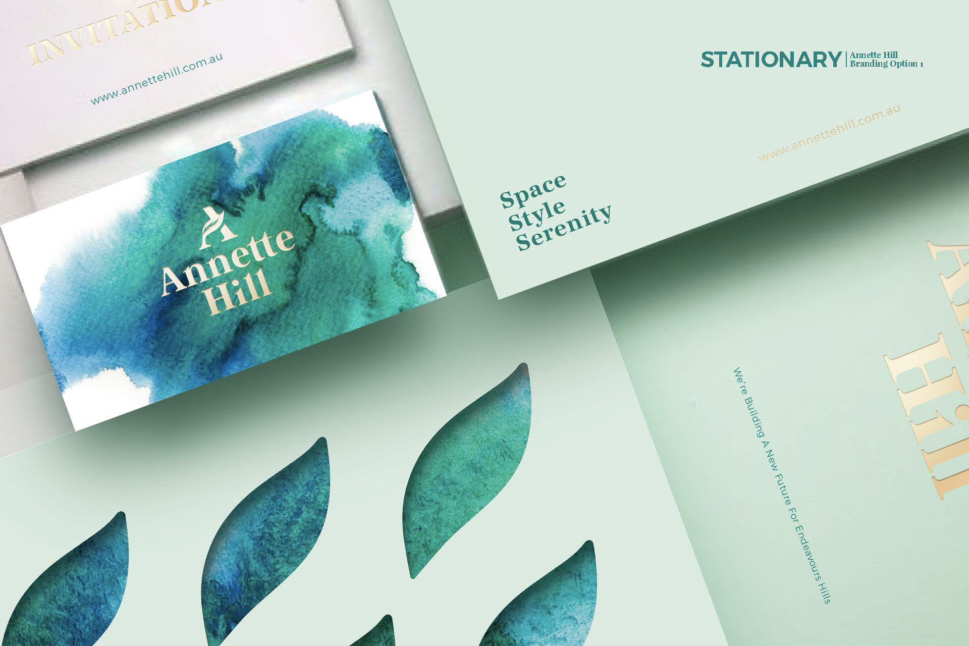 Annette Hill Property Branding by Z Creative Studio Branding & Graphic Design Melbourne