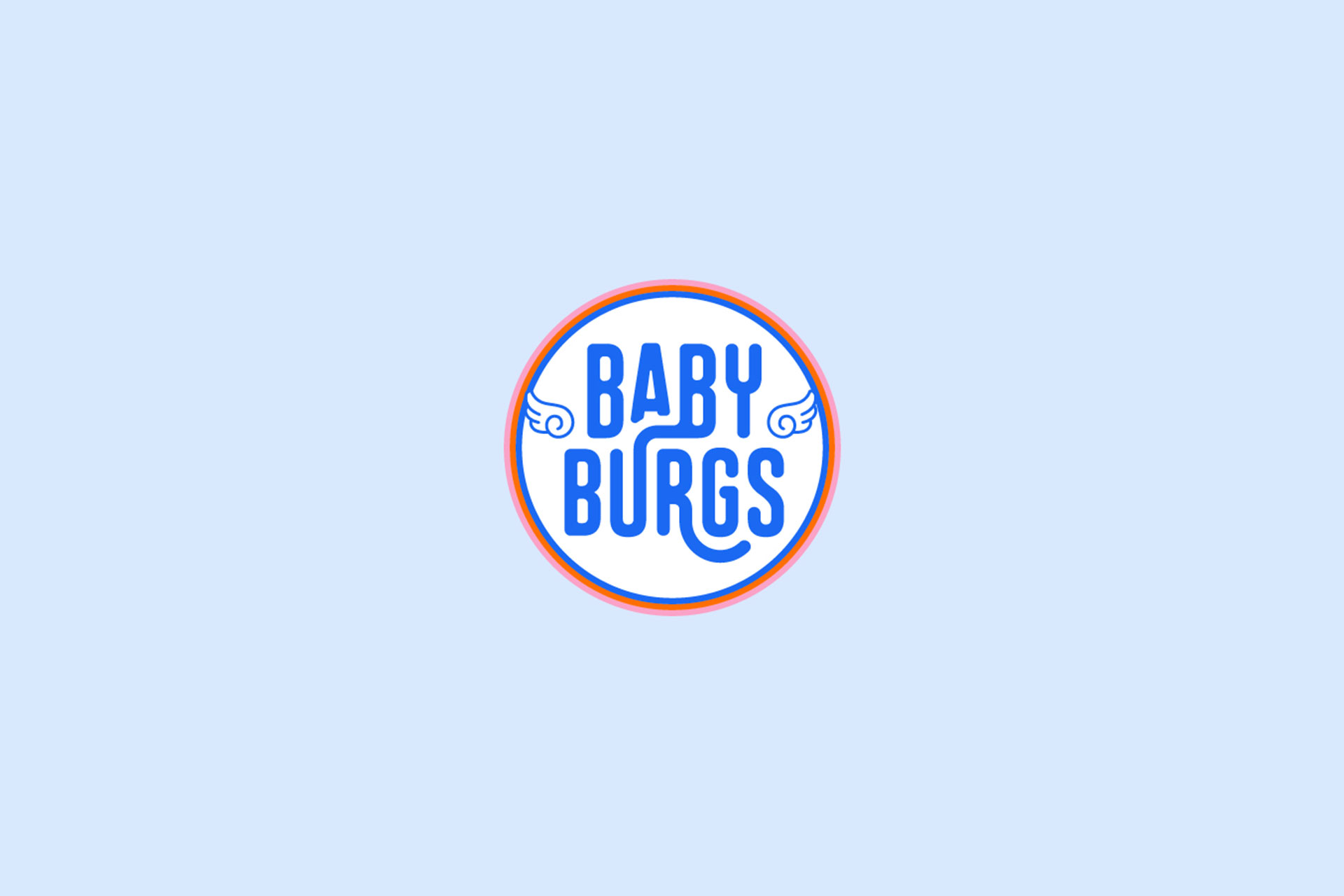 Babyburgs restaurant branding by Z Creative Studio Branding & Graphic Design Melbourne