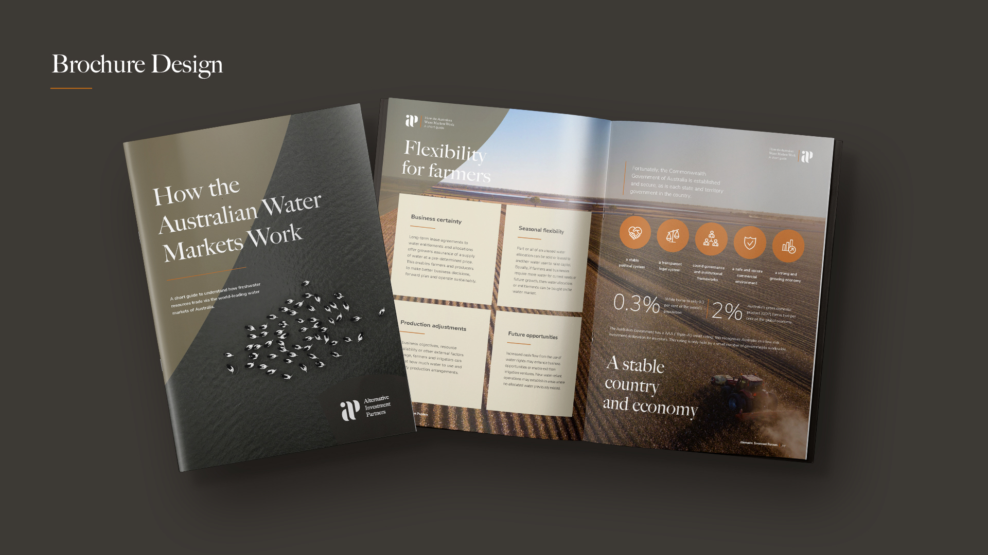 agriculture investment branding by Z Creative Studio Branding & Graphic Design Melbourne