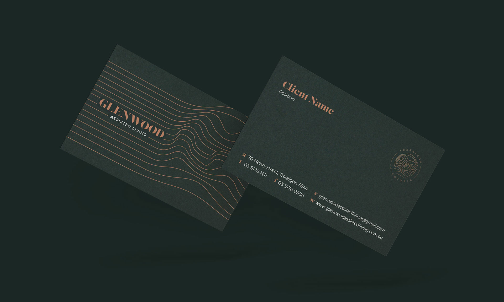 assisted living age care branding by Z Creative Studio Branding & Graphic Design Melbourne