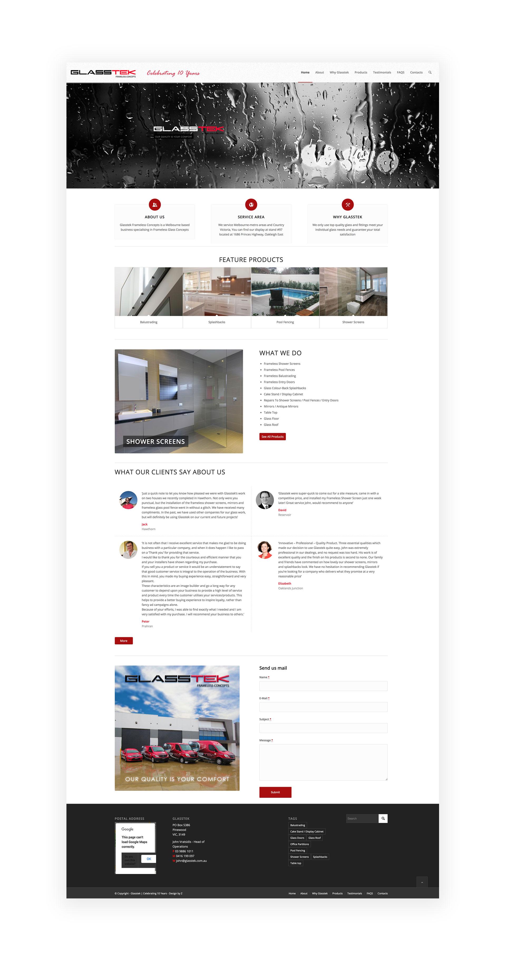 web design by Z Creative Studio Branding & Graphic Design Melbourne