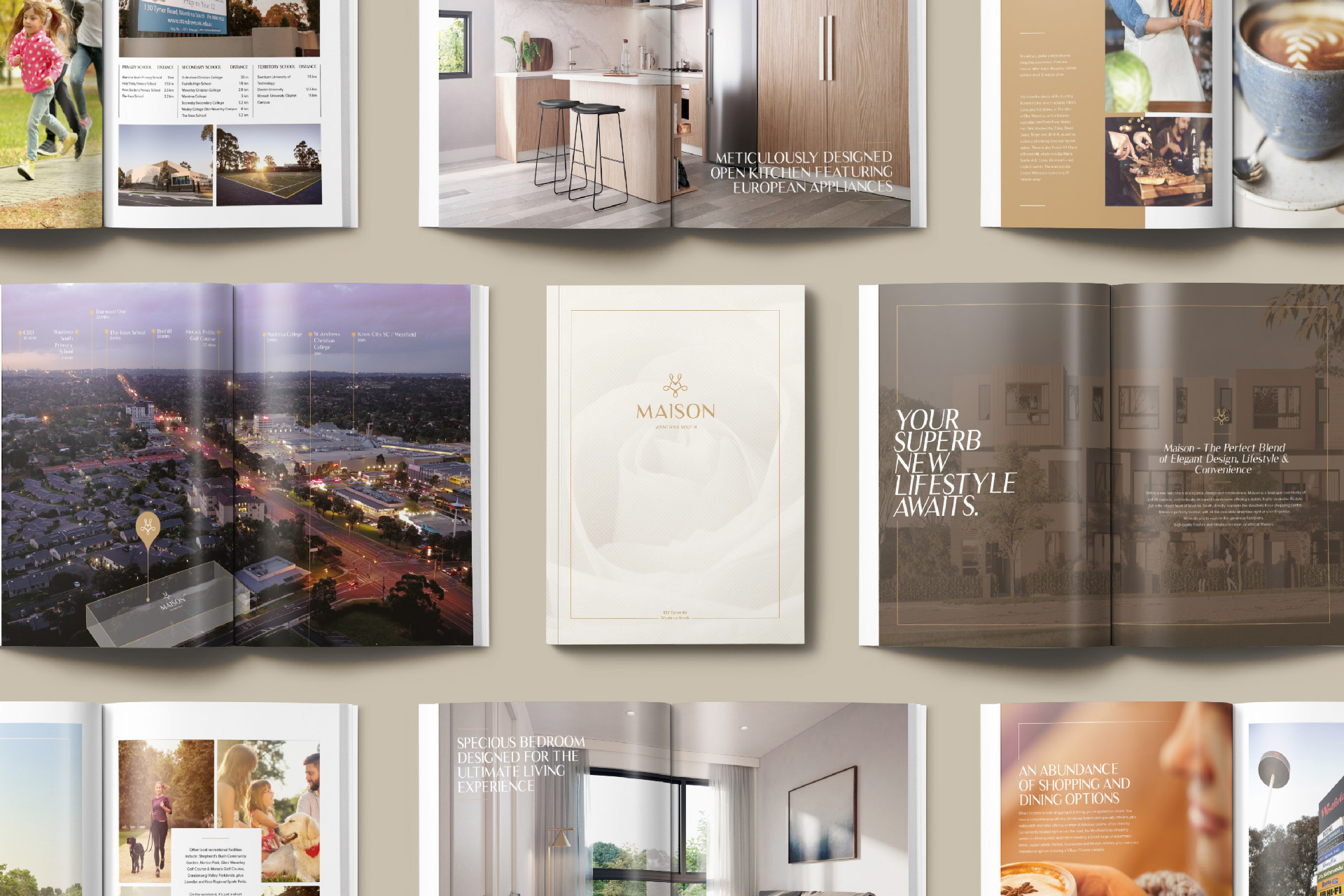Maison-Property-Marketing by Z Creative Studio Branding & Graphic Design Melbourne