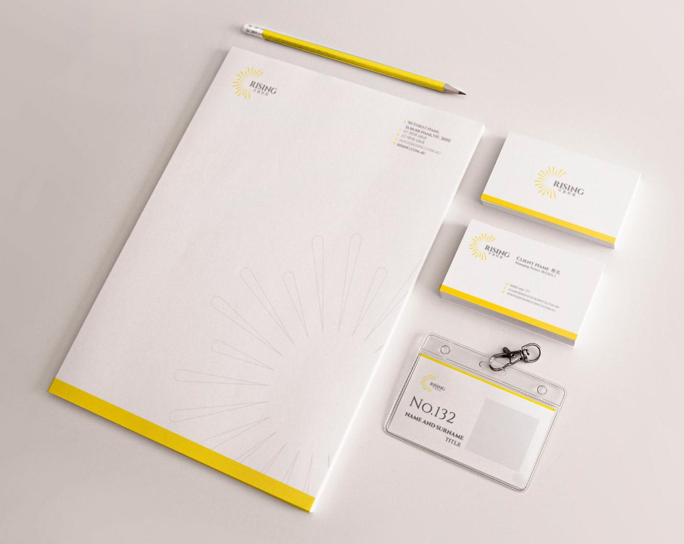property developer company branding by Z Creative Studio Branding & Graphic Design Melbourne